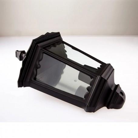 Lanterna Lieva, nera, per esterni